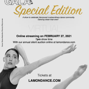Lamondance & Friends Gala This Saturday!